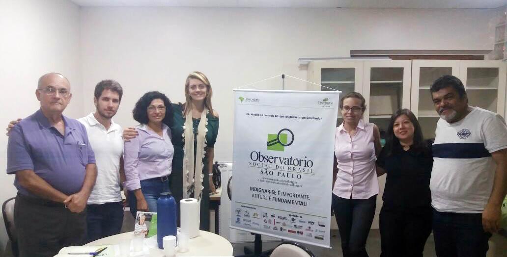 Reunião do Grupo Projeto Capacitação Micro e Pequenas Empresas em Licitações
